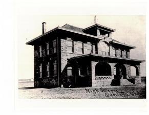Oktaha School 1909