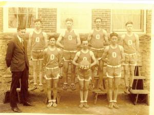 Oktaha Boy's Basketball 1928-29