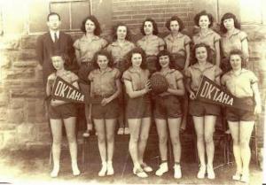 Oktaha Girls Basketball 1947-48