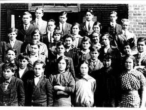 Oktaha High School 1915