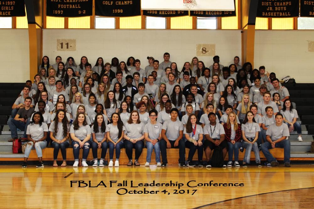 FBLA Fall Conference Attendees