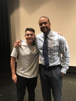 Guest Speaker D. J. Williams and Andrew Ruelas