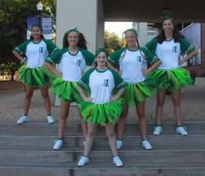 Freshmen cheerleaders