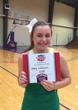Abby LoCascio, All American Cheerleader