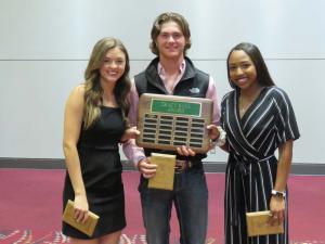 Tracy Saul Award, Reagan Hollingsworth, Pierce Clary, Haleigh Woodard