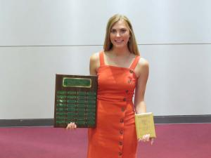Green and Gold Award for Top Female Athlete Kate Williams