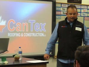 Mike Hiebert, Cantex Roofing