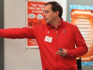 Matt Dowdy, Texas Texas Director of Football Communications ~ *Idalou alumnus
