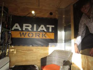 Kirk Whittle, Ariat sales representative