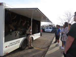 Mallory Mitchell & Shannon Chambliss, Texas Parks and Wildlife Game Wardens