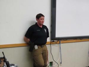 Officer Pierce, Lubbock Police Department