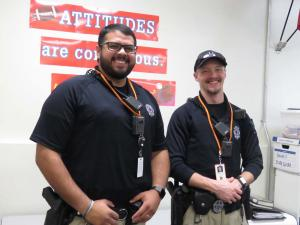 Officer Garcia and Officer Donothan, Idalou Police