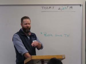 Ryan Schwalk, physical therapist