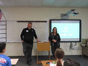 Tiffany Madden & Jeff Chase, BSN Sports