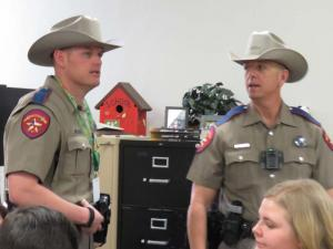 Texas Department of Public Safety, Troopers Fairchild and Mickley