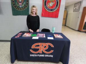 South Plains College representative