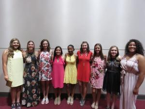 Varsity Girls Track 11th graders