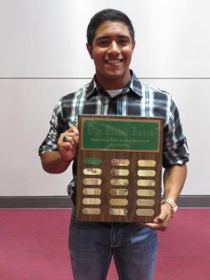 Olen Reddell Award Xavier Rodriquez