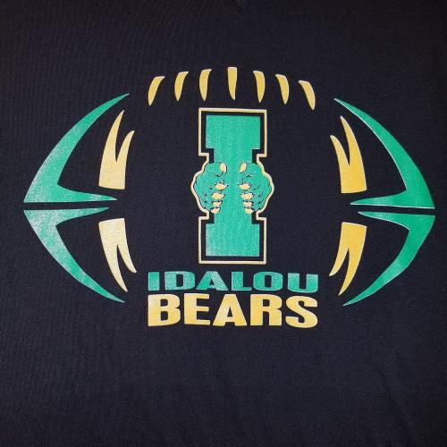 Idalou Bears football graphic