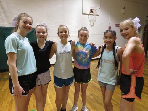 MS Cheer Candidates 7th gr