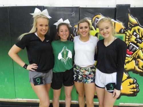 11th grade cheerleading candidates