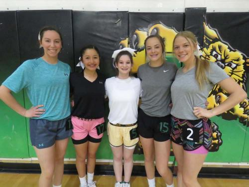 10th grade cheerleading candidates