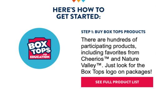 Box Tops 1 clip art