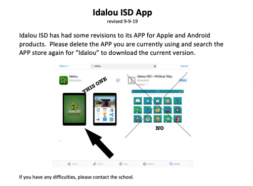 App instructions picture