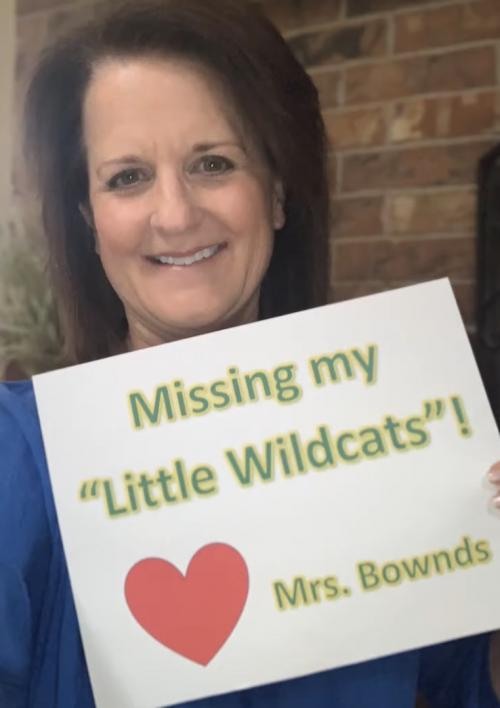 Idalou Elementary Staff misses our little Wildcats!