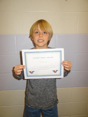 October 26 Flight Crew Winner