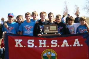 2011 3A Boys 3rd Place Cross Country Team