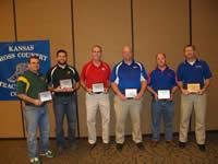 2011 Cross Country Boys Coach of the Year Recipients