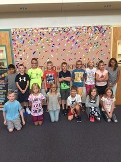 Fifteen Terrific Third graders!