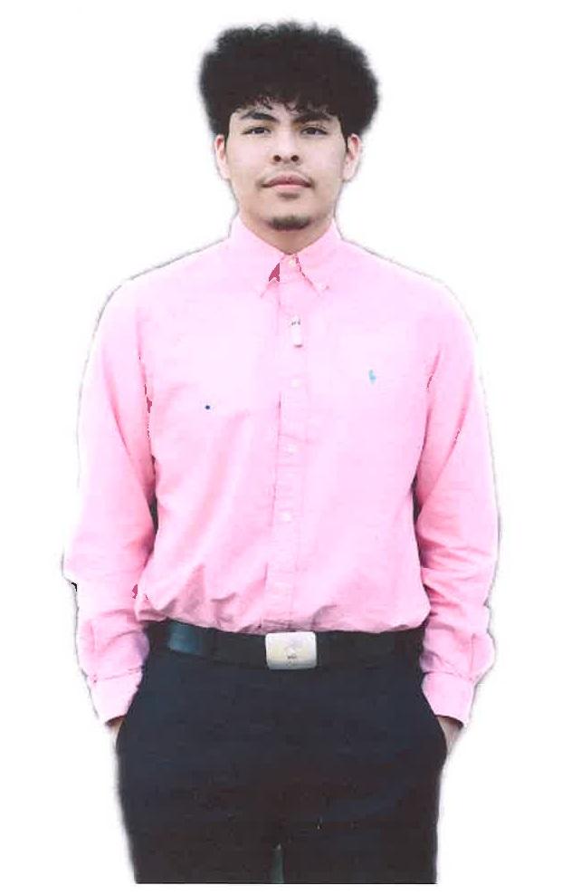 Miguel Segura- $1000 Harts Bluff Education Foundation Recipient
