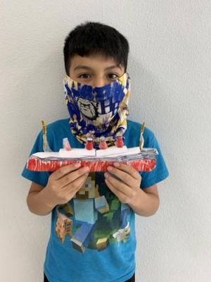 Christopher Jimenez, 5th Grade 2021 Lusitania Project