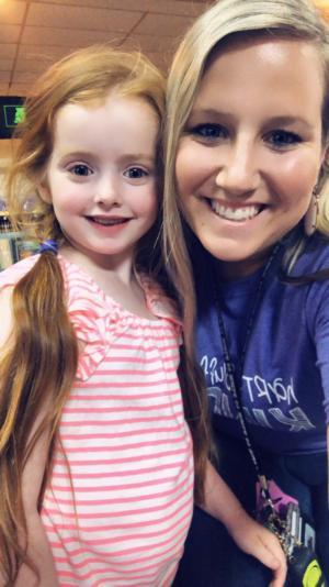 Savannah Morrow, Kindergarten 2019