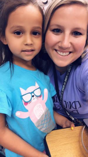 Sadie, Kindergarten 2019