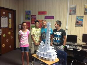 Tallest Tower in Class 1