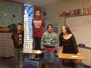 Tallest Tower in Class 3 and in the 7th Grade!!