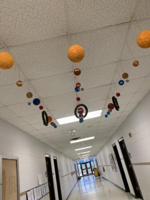 3rd grade 2019 Solar System Project