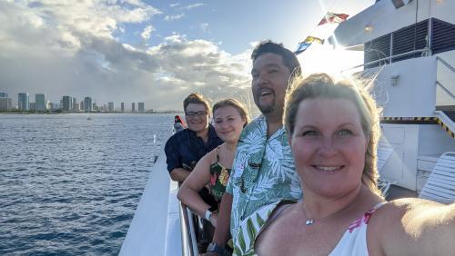 Hawaii sunset cruise