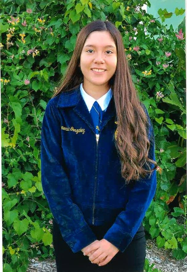 Esmeralda Guzman-$500 Harts Bluff Education Foundation Recipient