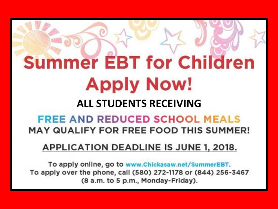Summer EBT