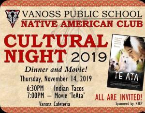 Cultural Night - Dinner & Movie