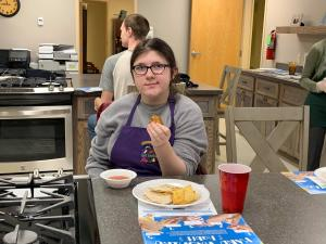 Chickasaw Nation GET FRESH cooking class