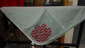 Picture of productpaw print blanket That Cost 25.00