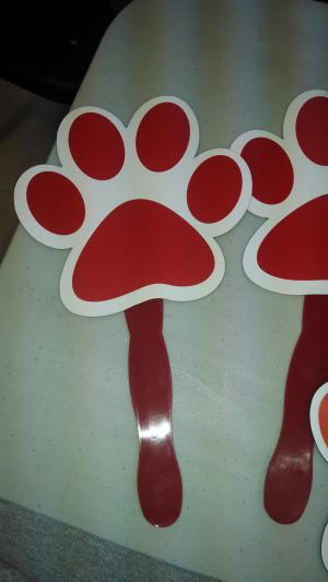 Picture of productpaw print fan That Cost 3.00