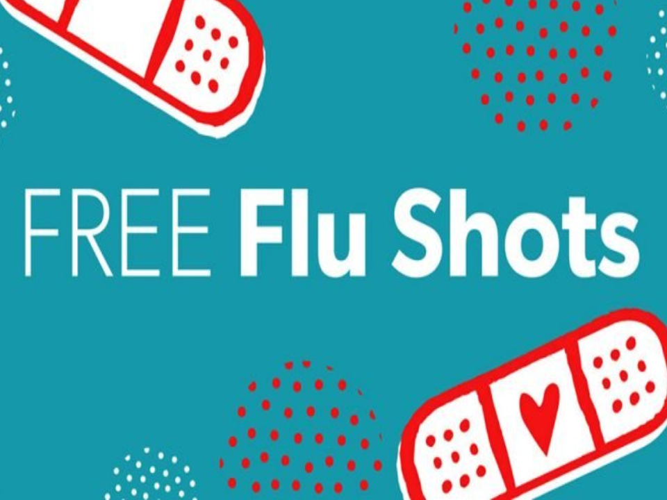 FREE Flu Shots - Click here for more info.