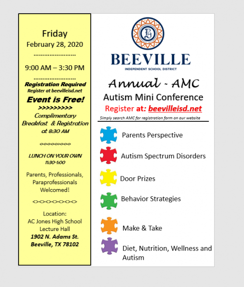 Autism Mini Conference
