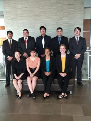 2016 Academic Decathlon state team